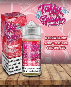 Taffy Splash - Strawberry 100ml