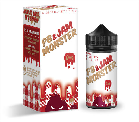 Jam Monster Strawberry PB & Jam 100ml