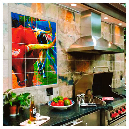 Custom Tile Murals