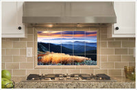 Mountain Sunset -  Tile Mural