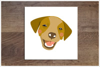 Happy Dogs -  Accent Tile Border