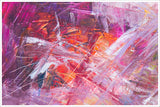 Abstract Pink Painting -  Accent Tile