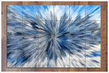 Abstract Burst Painting - Ceramic Tile Mural