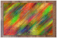 Abstract Color Spatters -  Tile Mural