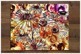 Abstract Flowers -  Tile Mural