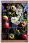 Apples & Flowers -  Tile Mural