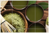 Bamboo & Green Tea -  Tile Mural