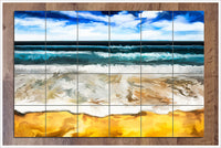 Beach Painting - Ceramic Tile Mural