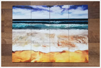 Beach Painting -  Tile Mural