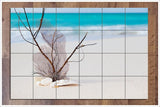 Beach Sculpture -  Tile Mural