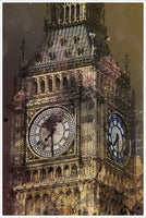 Big Ben Collage -  Tile Mural