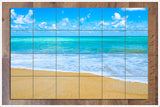 Blue Ocean Beach -  Tile Mural