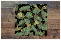 Green Leaves -  Tile Border