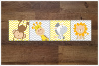 Baby Room Jungle Animals -  Tile Border