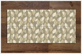 Brown Leaf -  Tile Border