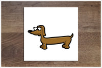 Cartoon Dogs 8 Designs -  Accent Tile