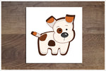 Cartoon Dog -  Accent Tile