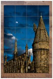 Moonlight Castle -  Tile Mural
