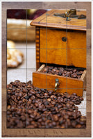 Coffee Grinder -  Tile Mural
