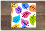 Colored Leaves -  Tile Border