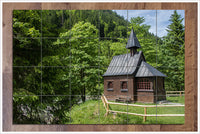 Country Church -  Tile Mural