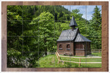 Country Church - Ceramic Tile Mural