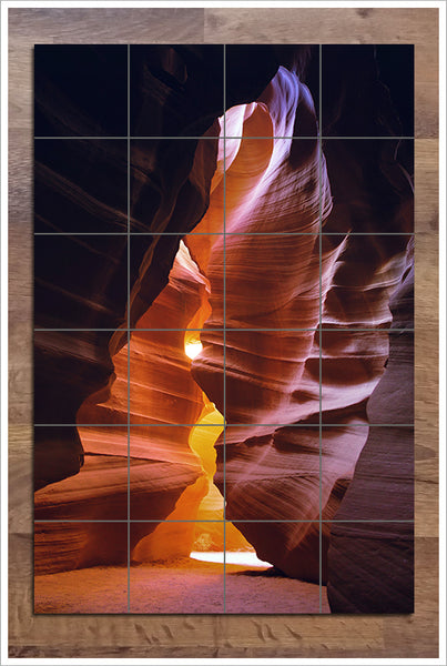 Desert Rock Wall 02 - Ceramic Tile Mural