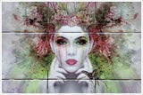 Fairy Face Painting -  Tile Mural