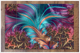 Feather Abstract -  Tile Mural