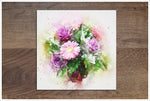 Flowers Watercolor 02 -  Accent Tile