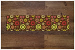 Abstract Flower Pattern - Ceramic Tile Border