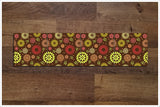 Abstract Flower Pattern -  Tile Border