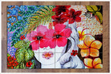 Flower Girl Painting -  Tile Mural