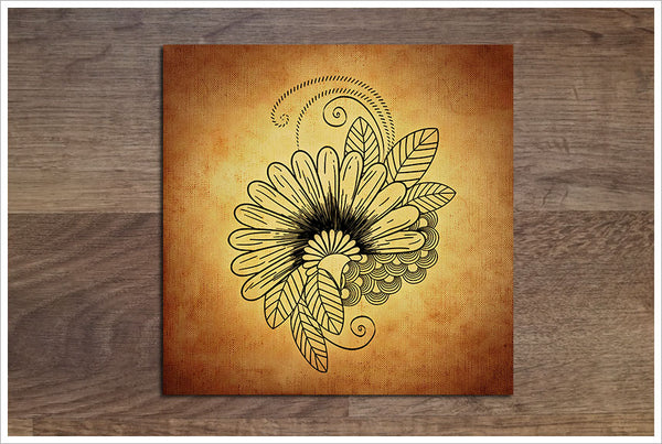 Flower Graphic -  Accent Tile