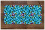 Fun Flower Pattern -  Tile Border