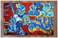 Graffiti Leo -  Tile Mural