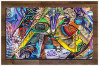 Graffiti Wall -  Tile Mural