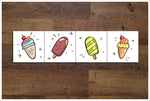 Kids Ice Cream Accents -  Tile Border
