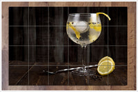 Lemon Cocktail -  Tile Mural