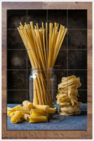 Dried Pasta in a Jar -  Tile Mural