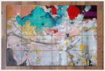 Peeling Paint Abstract - Ceramic Tile Mural