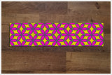 Pink & Yellow Flower Pattern -  Tile Border