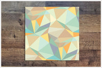 Polygon Abstract Pattern -  Tile Border