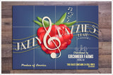 Jazzy Razzies Crate Label -  Tile Mural