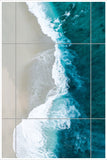 Vertical Shoreline - Ceramic Tile Mural