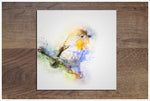 Sparrow Watercolor -  Accent Tile