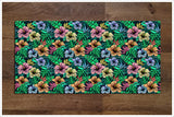 Tiki Bar Flowers 01 -  Tile Border