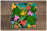Tiki Bar Flowers 05 - Ceramic Tile Border