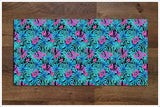 Tiki Bar Tropical Leaves 03 -  Tile Border