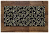 Tiki Bar Tropical Leaves -  Tile Border
